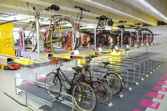 Pin By Haha On Car Factory Bicycle Parking Bike Room Bike Parking