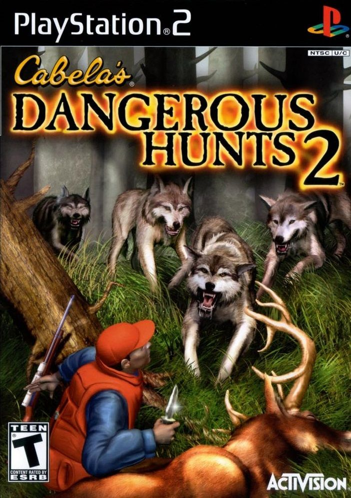 Cabela S Dangerous Hunts 2 Ps2 Playstation Gamecube Hunting