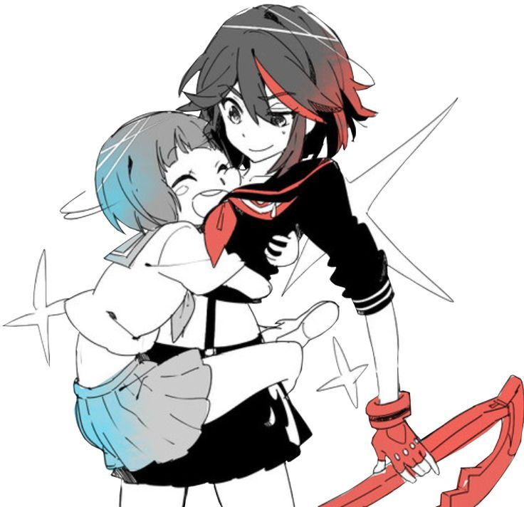 Mako X Ryuko Google Search Kill La Kill Kill A Kill Anime