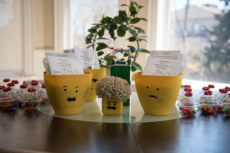 Lego Party Favors