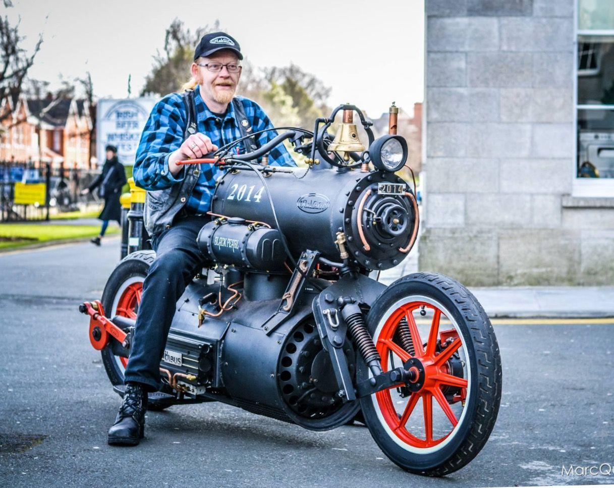 Locomotive Bike Unusual. Motorcycles & Trikes