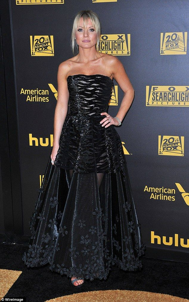 Bold Look Empire Star Kaitlin Doubleday Showed Off A Hint Of Her Legs In A
