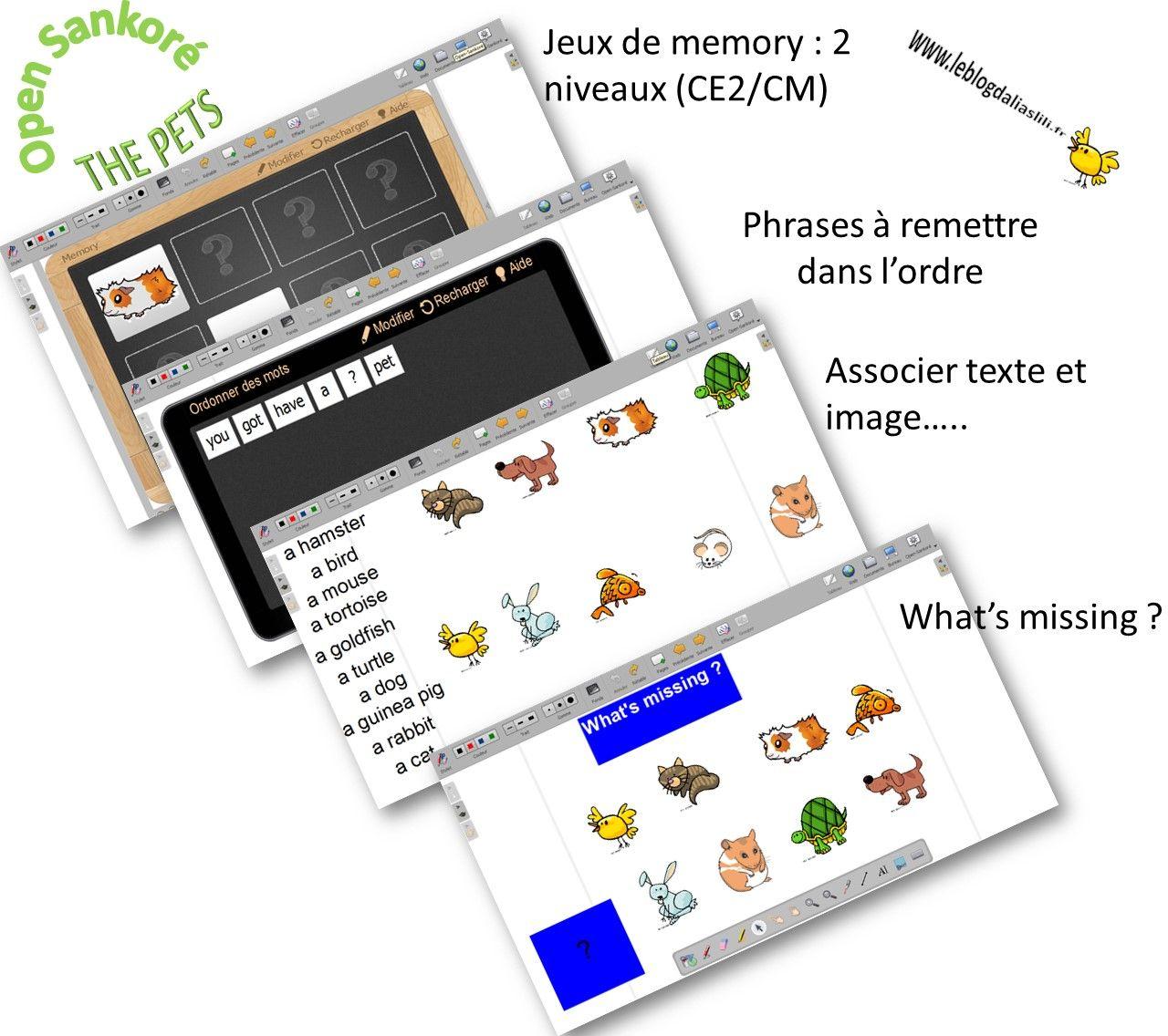 Fichiers Open Sankore Pets