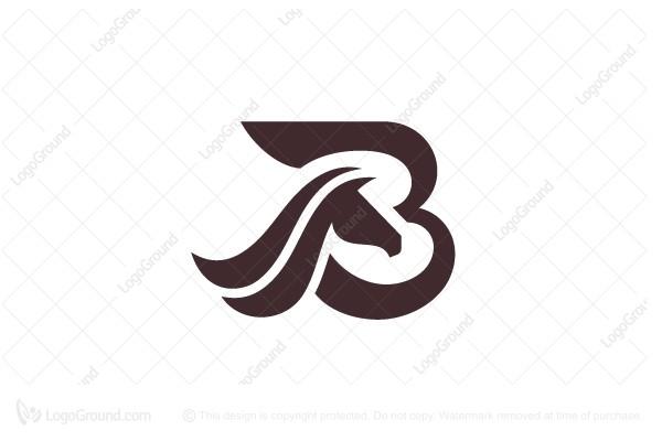 Letter B Logo Horse Logo Horse Logo Letter B Lettering