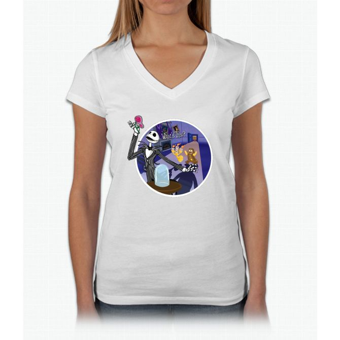 What's This Rose? Womens V-Neck T-Shirt