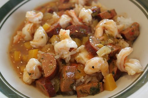 Shrimp gumbo that I made one 4/2/12.