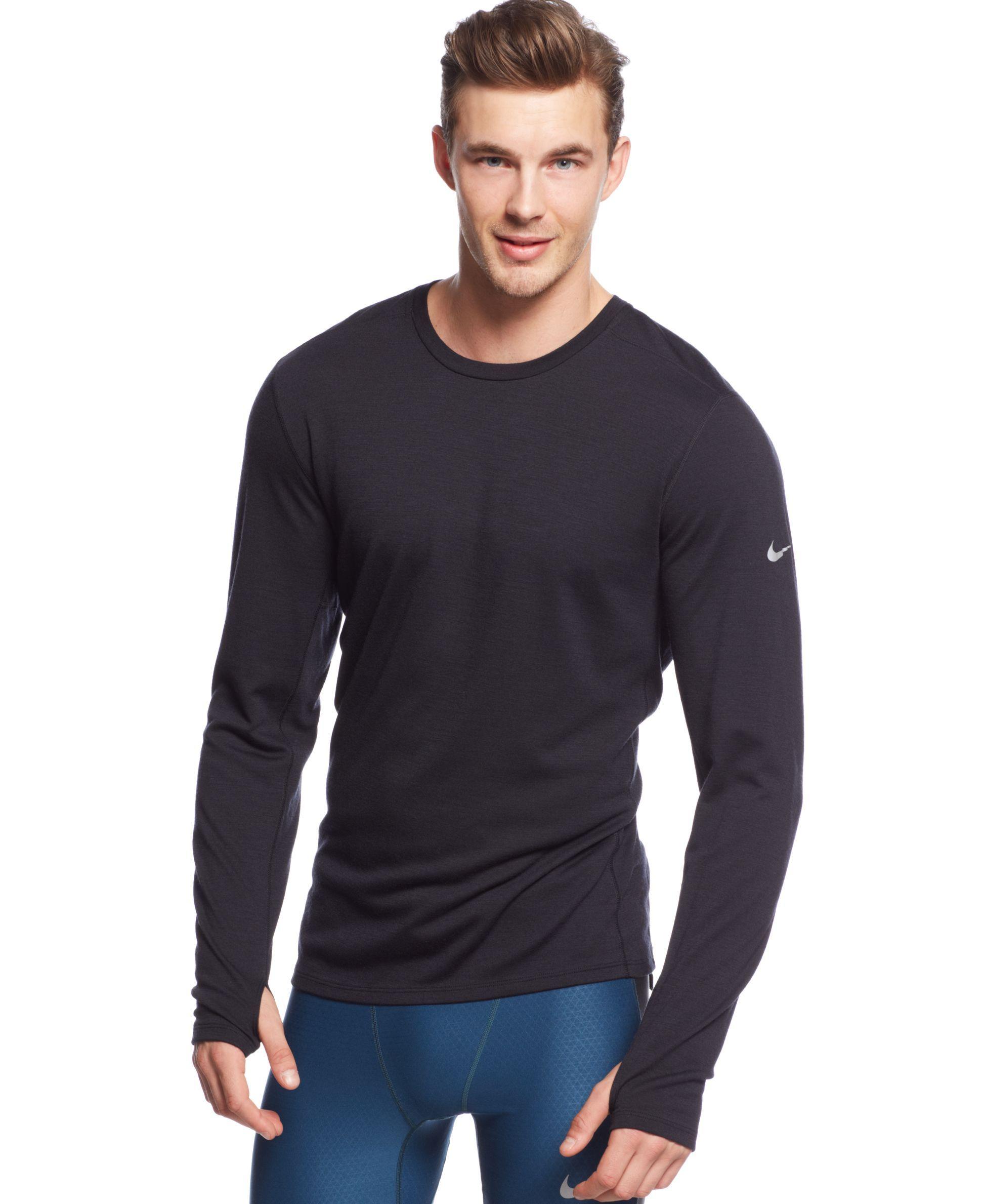 Nike Wool-Blend Dri-fit Pullover