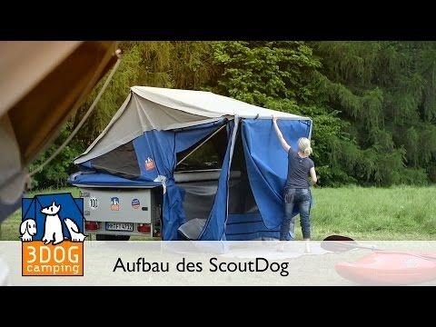 3DOG camping – De compacte vouwwagen ScoutDog | Vouwwagen B7l7M