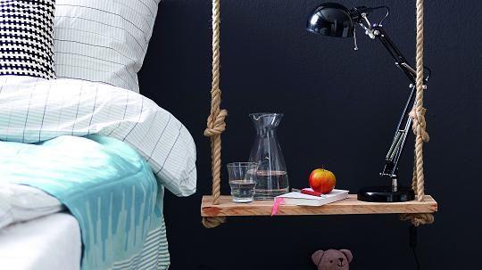 Diy Tutorial Schwebender Nachttisch Diy Nachttisch Ideen