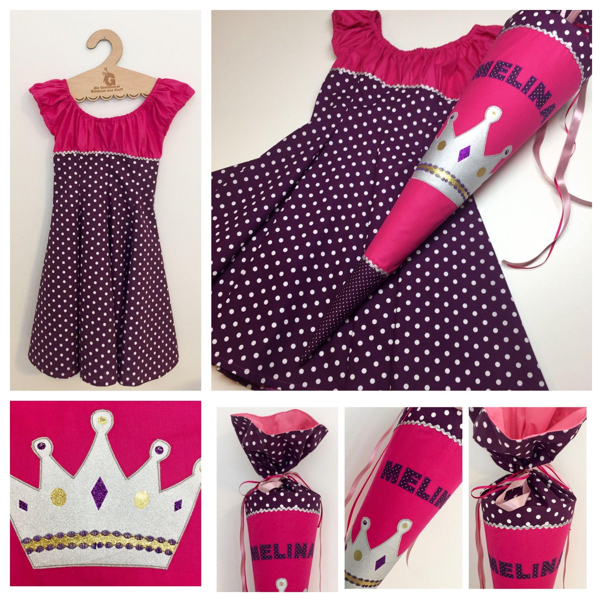 schultüte aus stoff, ergobag lumi perlentauchbär, lila, pink