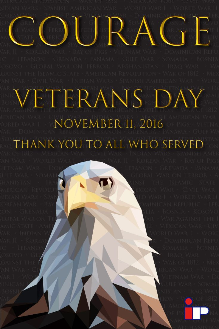 Veterans you are not forgotten. We respect and cherish the sacrifice that you have made for so many of us that haven't. You have displayed the COURAGE to stand up for the more vulnerable and  you have not only made the United States a better place but the world.  This Veterans Day please remember to thank a veteran.