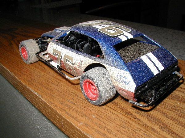 Ford Pinto Dirt Modified  | Plastic Model Car Kits and 1:18 Scale