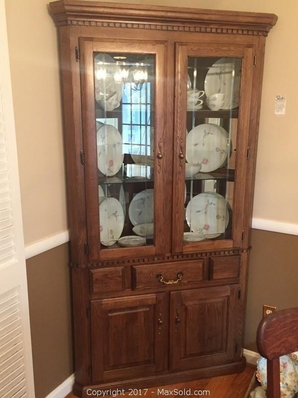 Small Kitchen China Cabinet
