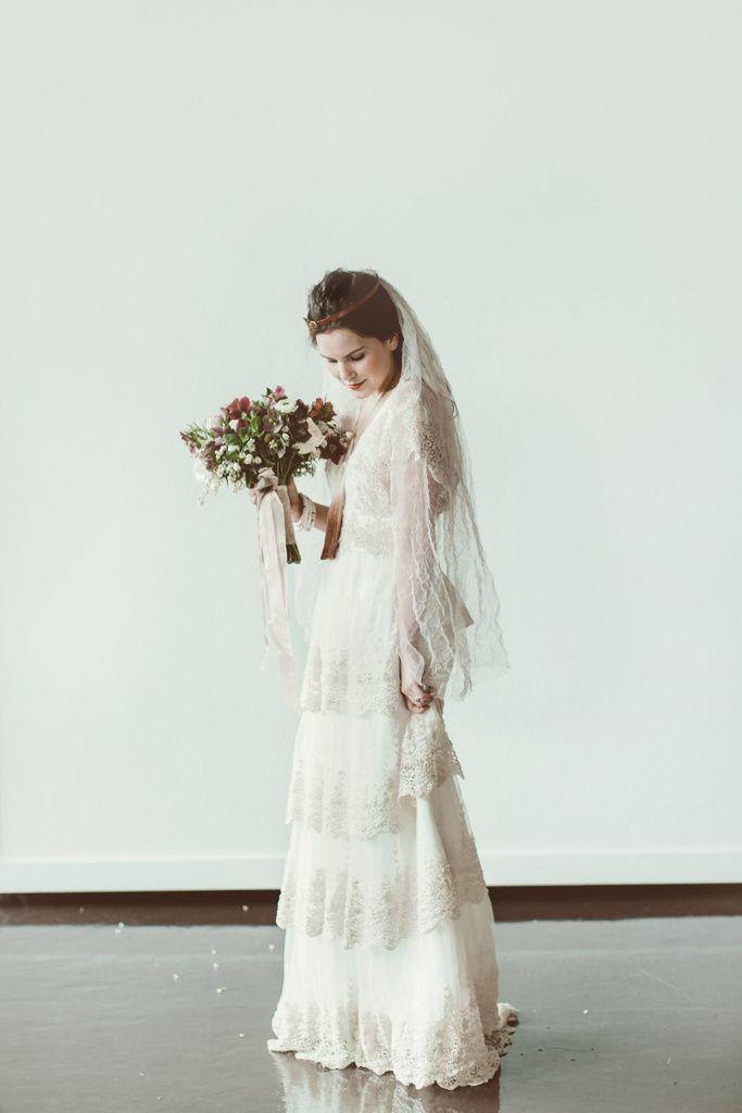 The Diamond Sea Bridal. Vintage Modern Wedding Dresses designed by ...