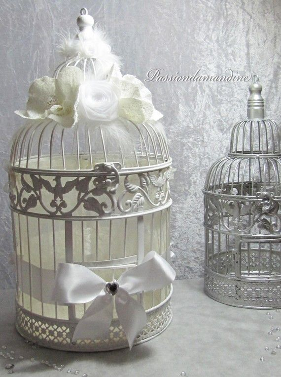 Urne Mariage Cage à oiseaux , 6