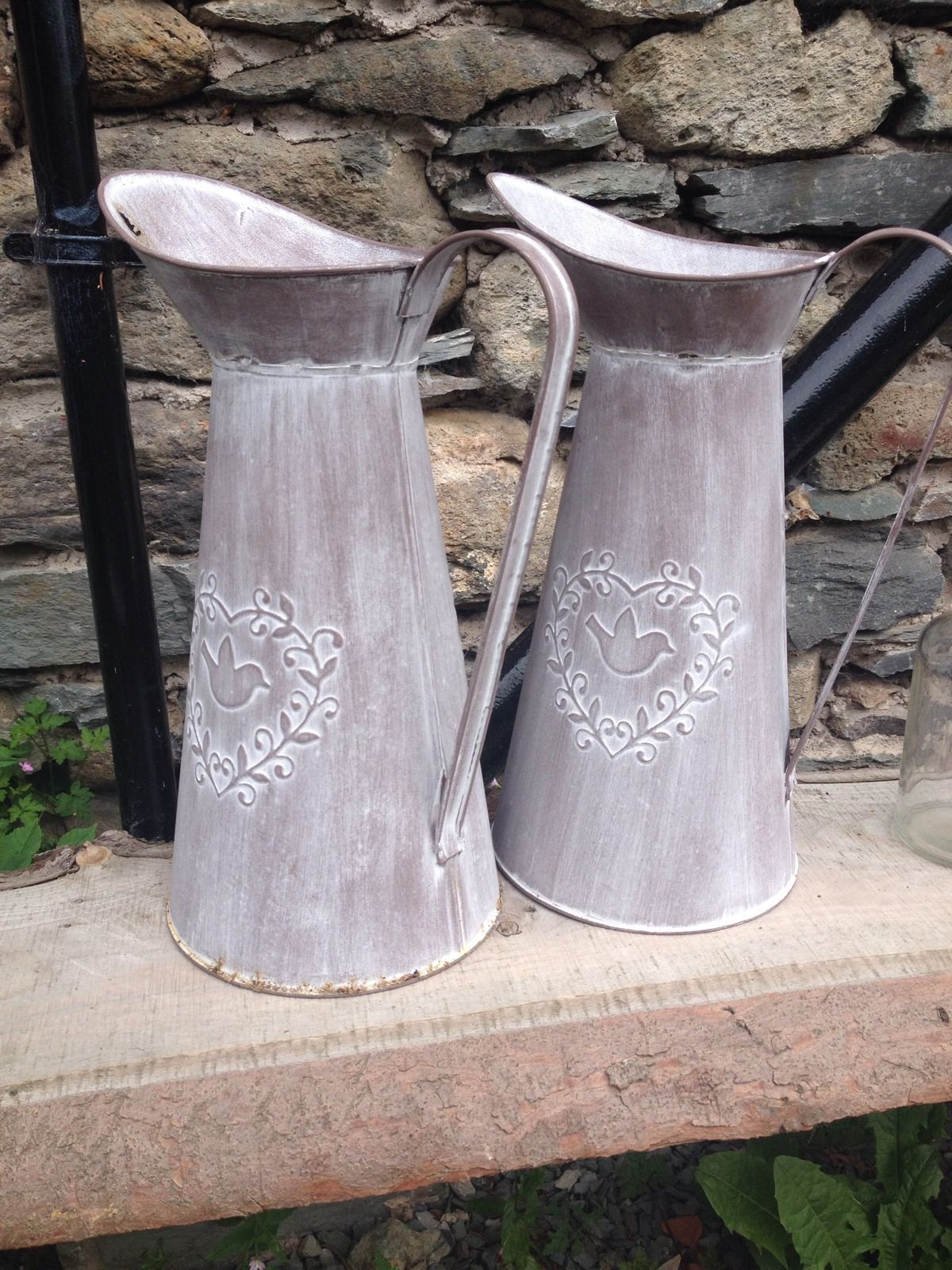 Pair Of Rustic Jugs, Wedding, Country, Decoration   eBay