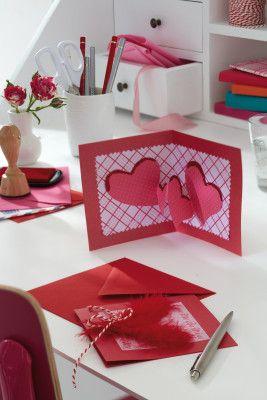 Kartka Walentynkowa Z Dodatkiem Valentines Cards Diy Valentines Cards Homemade Valentine Cards