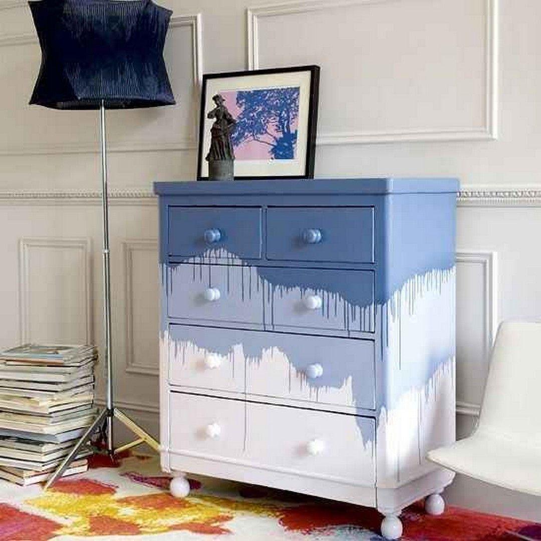 40 Diy Home Decor Ideas: 30 Beautiful DIY Ombre Furniture Design Ideas