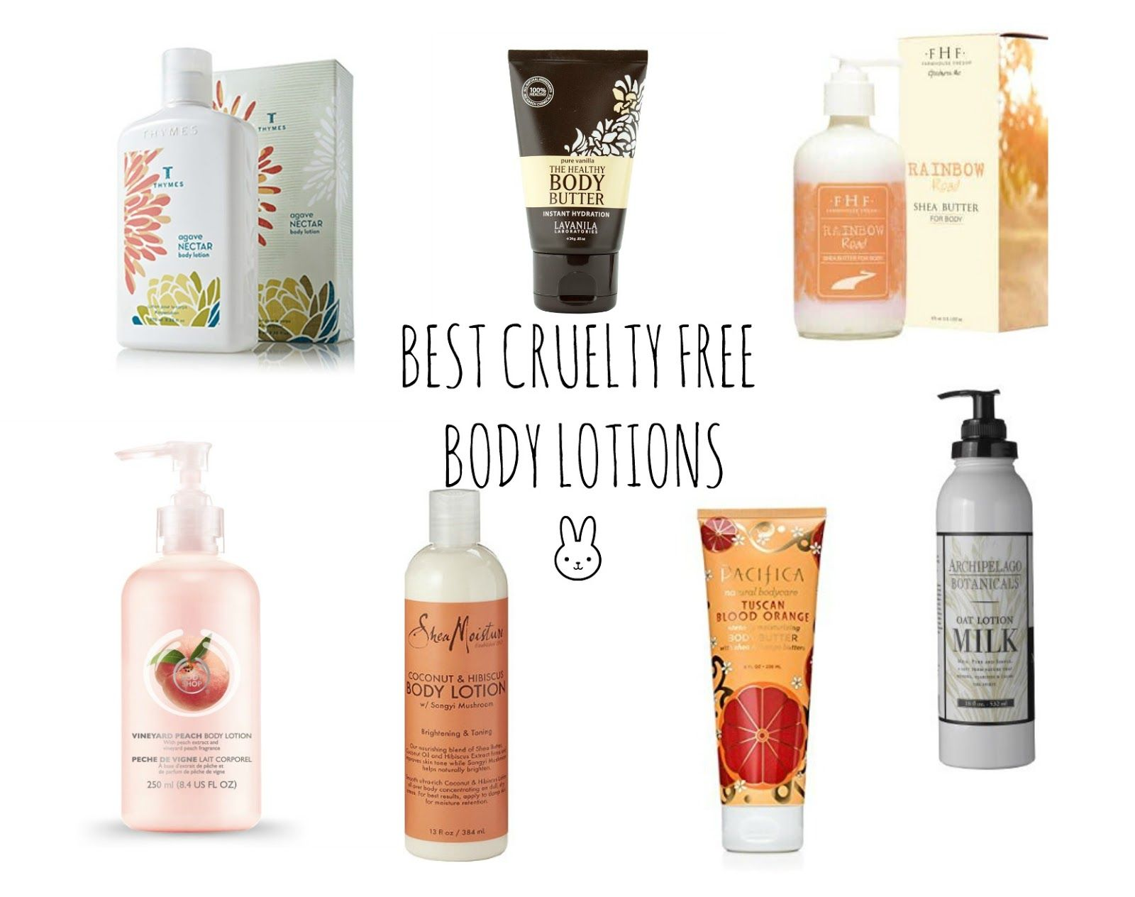 Best Cruelty Free Body Lotions Body Lotions Cruelty Free Makeup Lotion
