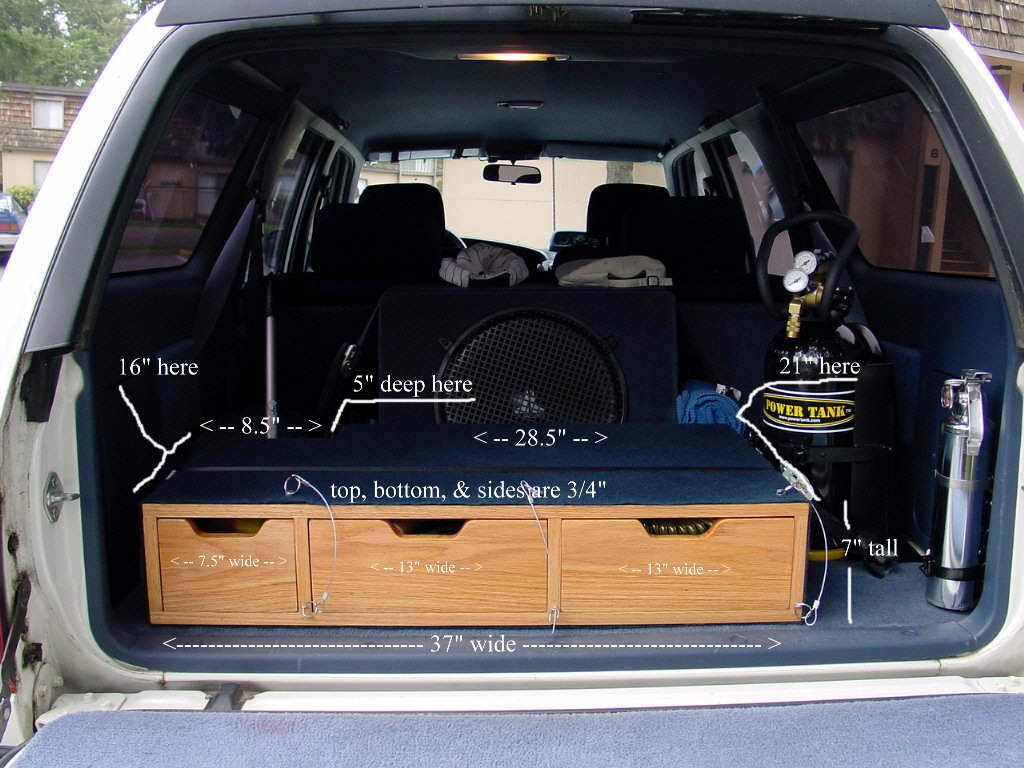 Rear Storage Solutions 12 Articles Toyota Fj Cruiser
