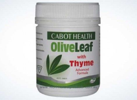 Cabot Health Olive Leaf with Thyme 100c || complete natural products