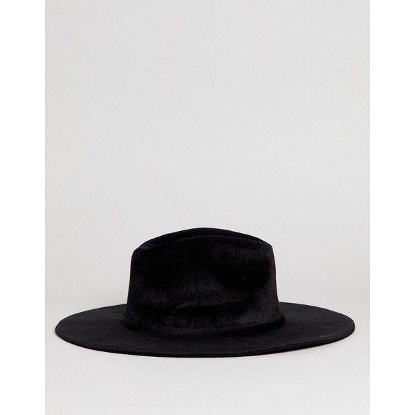 Black Felt Fedora Hat - Black Glamorous Original Sale Online Cheap Sale Clearance Best Place Free Shipping Buy Explore ELX5X2YkA