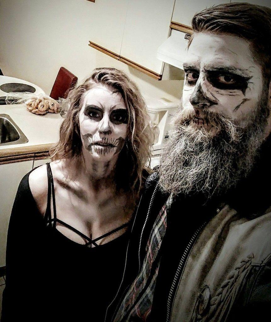 Last minute Halloween costume - skull Halloween costumes ...