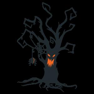 halloween tree - Google Search | Creepy halloween decorations, Halloween  tree decorations, Pumpkin drawing