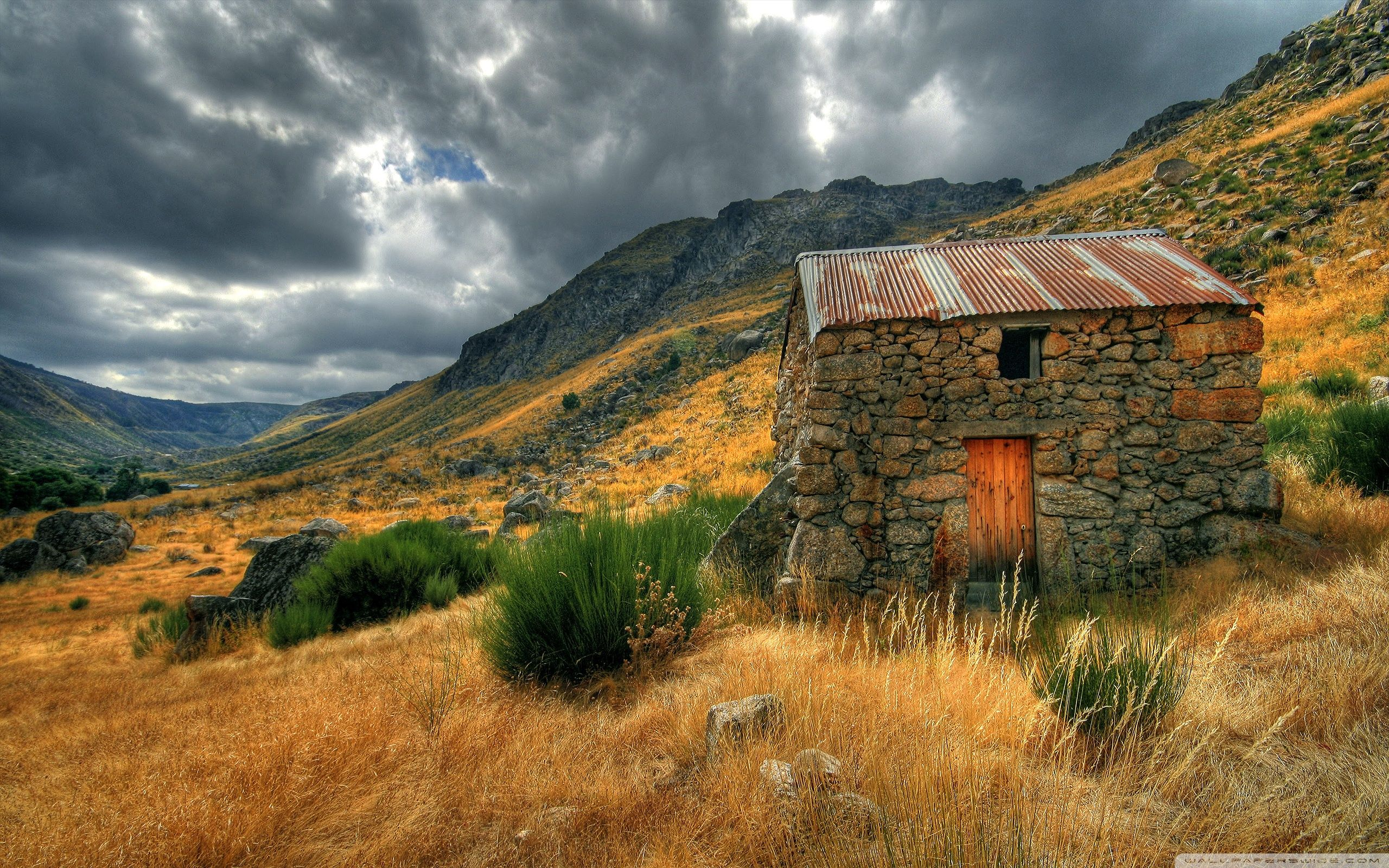 Stone House Wallpapers Hd Wallpapers House In Nature Old Stone Houses Stone Cabin