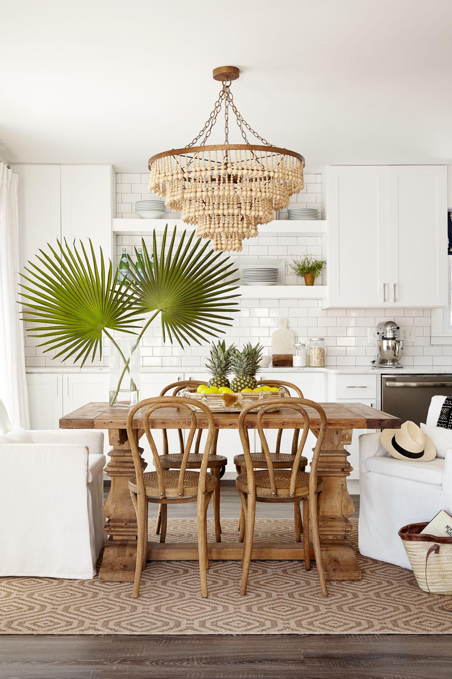 Stephaniekrausdesigns Tropical Home Decor Tropical Kitchen Dining Room Decor Bungalow dining room decorating