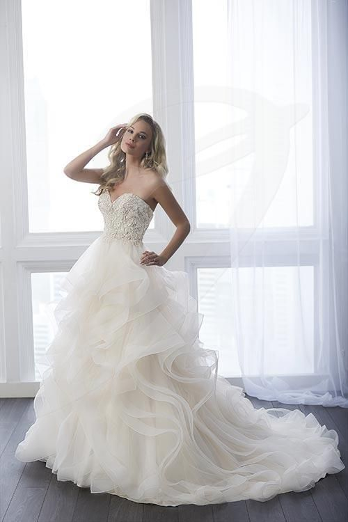 Jacquelin Bridals Canada - 15638 - Wedding Gown - Intricate micro ...