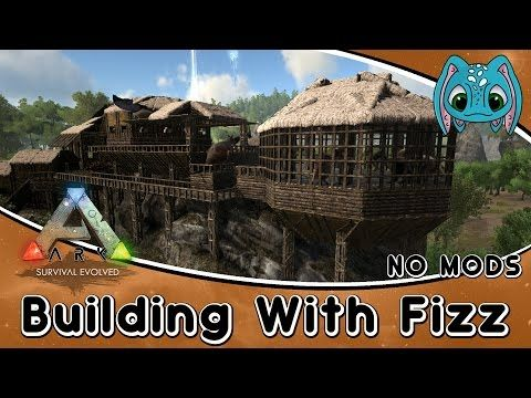 Nice ARK:Survival Evolved Building W/ Fizz :: Swamp Base Build (No Mods)    YouTube