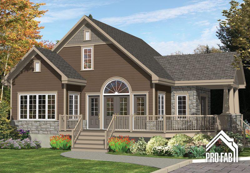Pro-Fab Constructeur de maisons modulaires, usinées, préfabriquées - modele de construction maison