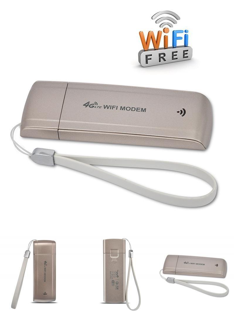 Visit to Buy] Unlocked 4G/3G USB WIFI Modem FDD LTE B1/B3 Band 4G