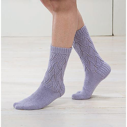 Day Lily Socks by Rae Blackledge - free