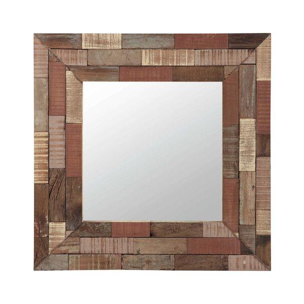 JAIPUR wooden mirror, multicoloured ... | Jungle Room | Pinterest