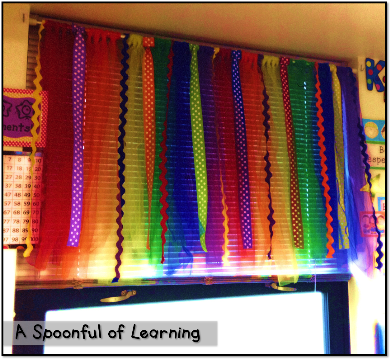 Classroom window decoration  DIY Classroom Curtains NO Sewing or Gluing Follow for free
