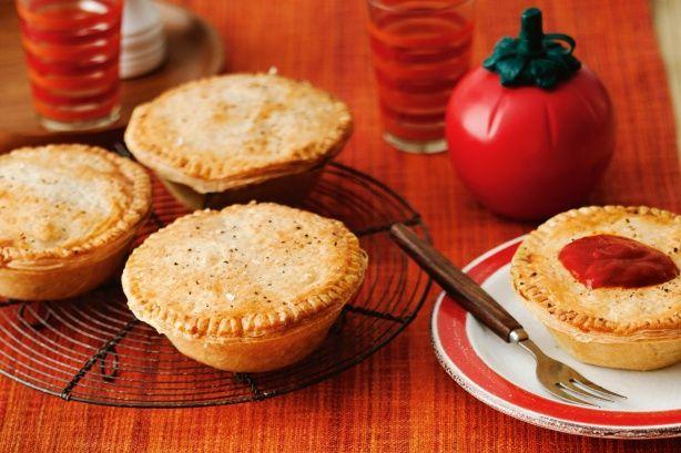 Steak and kidney pies | Steak, kidney pie, Food, Food recipes
