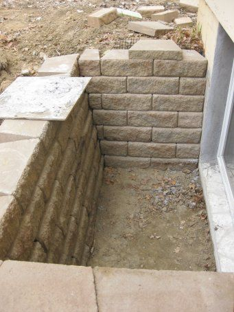 brick basement window wells. Simple Basement Windowwellbricks With Brick Basement Window Wells R