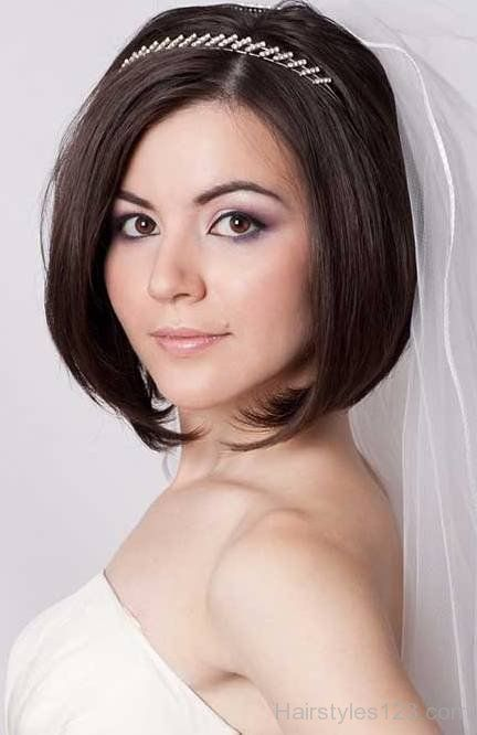 Bob Wedding Hairstyle Bob Wedding Hairstyles Short Wedding Hair Hair Styles