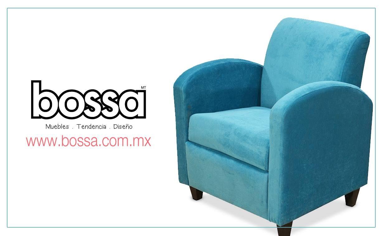 ¡El color aqua está en tendencia! Te presentamos el sillón Coco que está tapizado con tela velvet y color aqua; visítanos y descubre nuestra variedad de colores y telas. www.bossa.com.mx