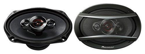 Pioneer - TS-A Series 6 x 9 4-Way Component Speakers (Pair) - Black #componentspeakers