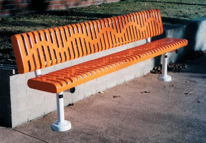 Park Bench Outdoor Recycled Iron Plastic Metal Park Benches 8ft Commercial Park Benches With Back Inground Mt Vmwcb Park Bench Bench With Back Bench