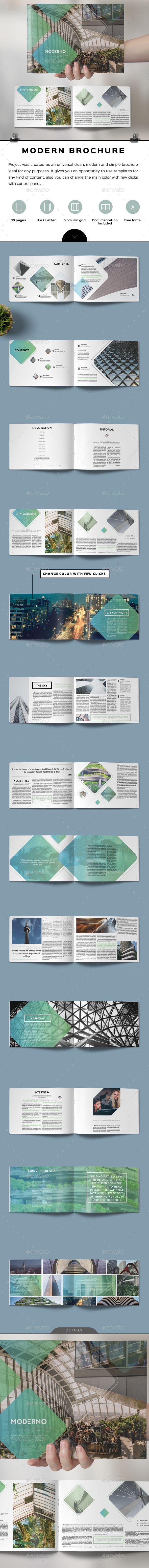 Moderno Brochure - Corporate Brochures