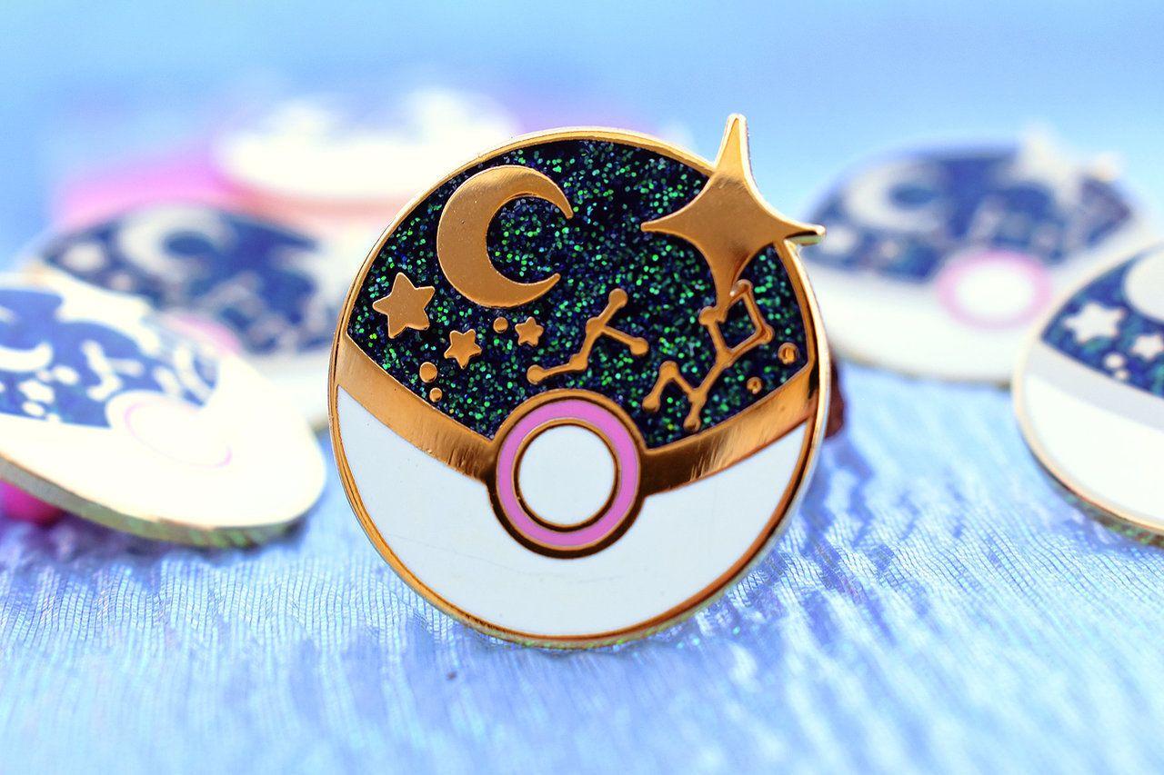 Pokemon Wish Pins made by Gabriela Romero -