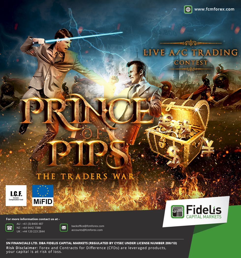 Prince of PIPS Live Contest - Fidelis Capital Markets | All Forex Bonus