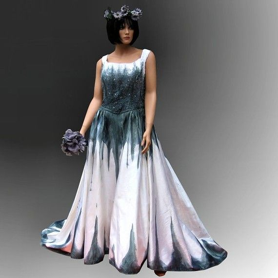 Corpse Bride Gothic Gown | Gothic wedding, Gothic and Gowns