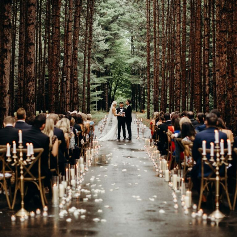 Fairytale Wedding In The Woods Forest Wedding Ceremony Woodland Wedding Ceremony Woodland Wedding