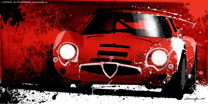 fantastic automotive artworks here http://www.leonelloartdesign.com/ARTWORK.html