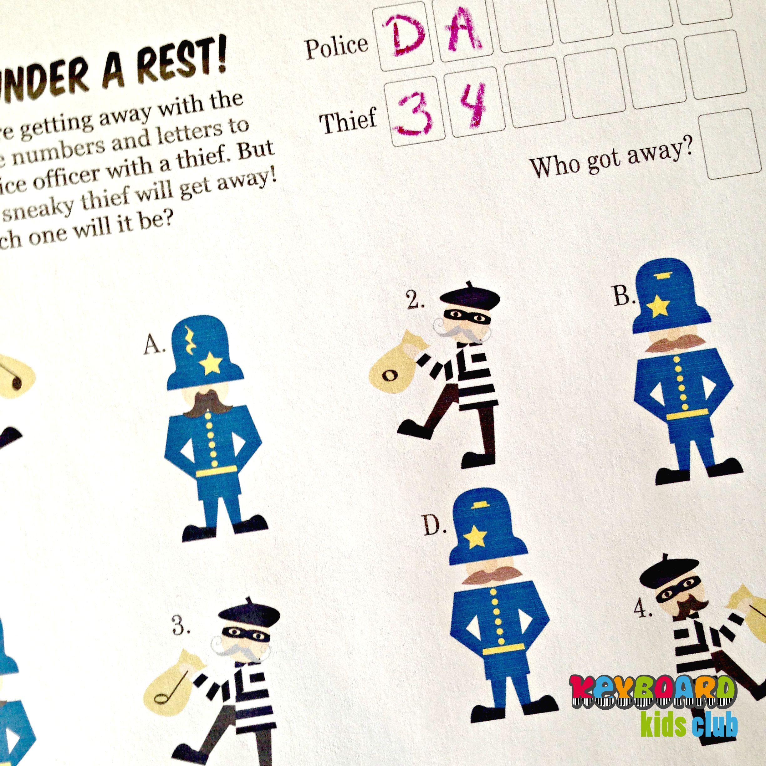 Review Rest Values Quarter Half Whole By Matching Cops